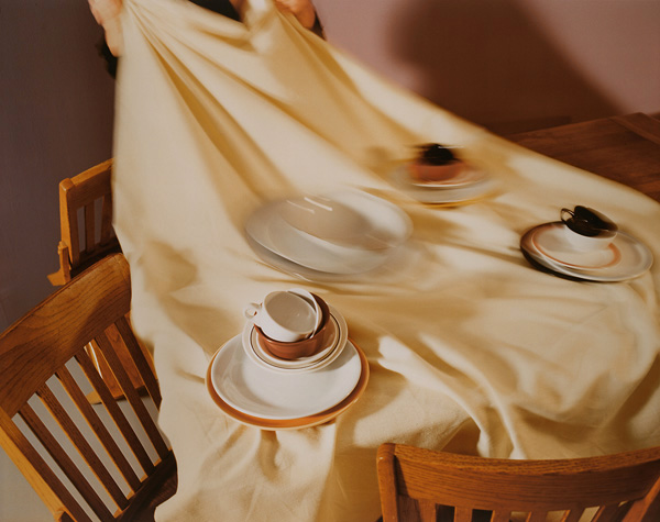 The Dish Trick , 1985 Vintage Cibachrome Print 30 x 40 inches