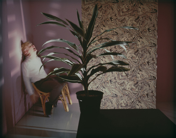 Man and Plant , 1985 Vintage Cibachrome Print 24 x 30 inches