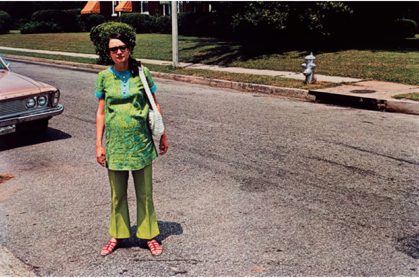 Untitled, (Rosa Green Dress), 1970-1973