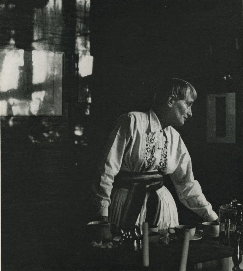 Homer Page: Dorothea Lange, 1956