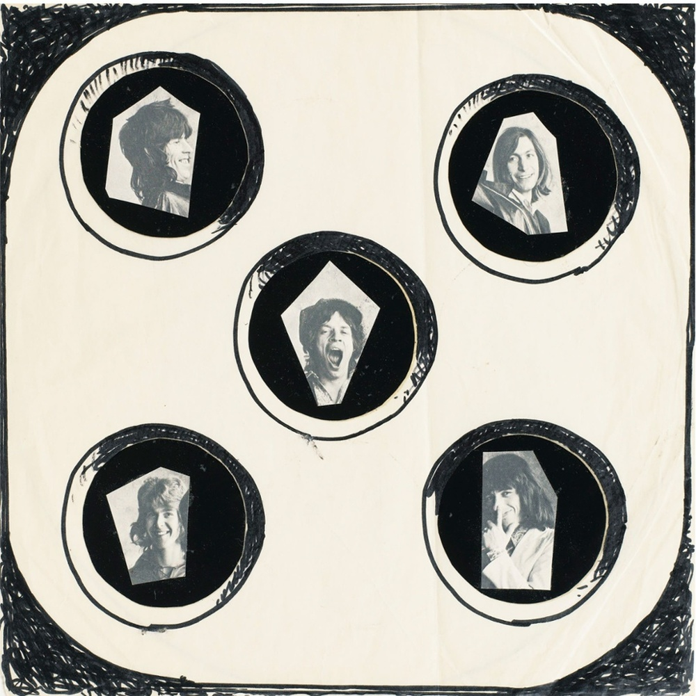 The greatest record cover that never was? ... Man Ray's original Rolling Stones cover for Exile on Main Street. All photographs courtesy Les Rencontres d'Arles