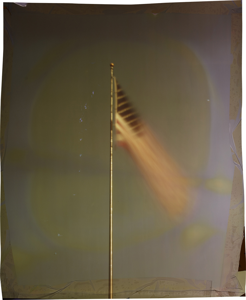 John Chiara   Anderson at Company , 2015 34 x 28 inches  Unique photograph on Ilfochrome paper