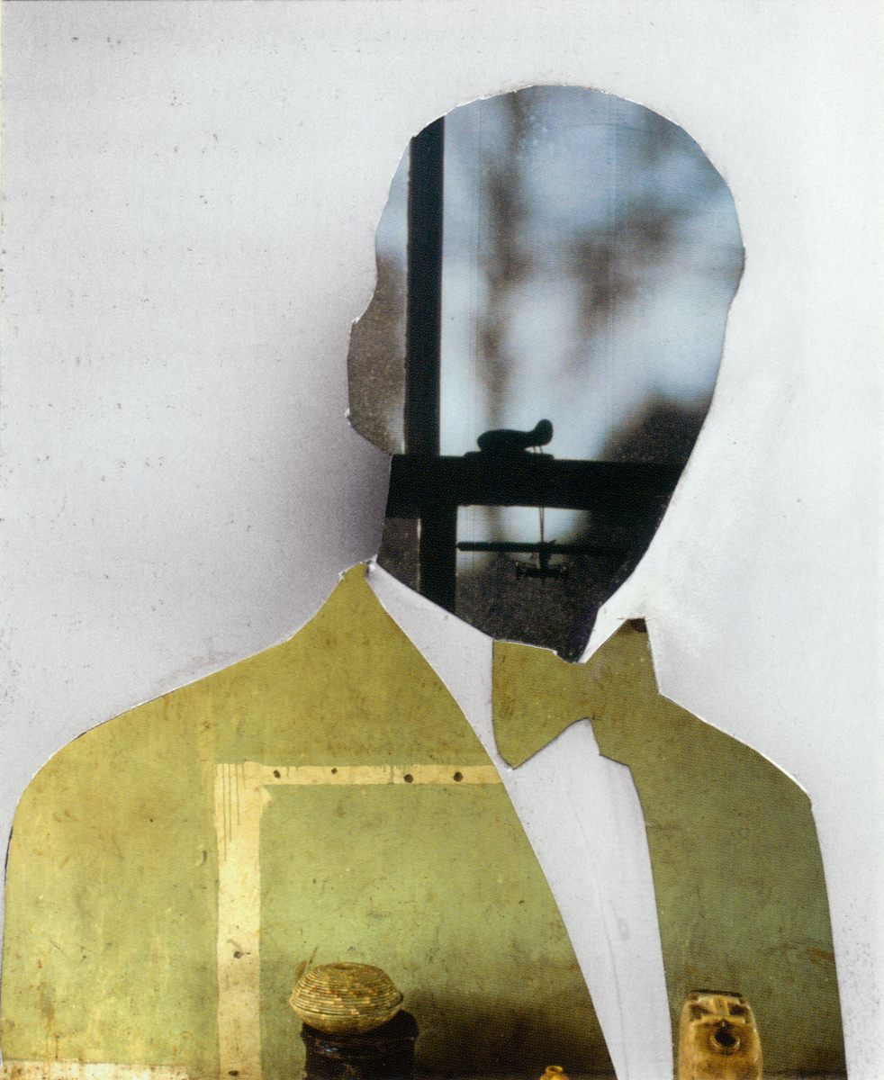 Melinda Gibson   Photomontage XVI, (taken from pages 133, 169, 196) , 2009-2011 8 ⅜ x 11 ¾ in, unique photographic collage