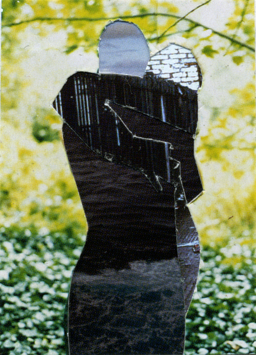 Melinda Gibson   Photomontage XXV, (taken from pages 148, 168, 180) , 2009-2011 1 ¼ x 1 ⅝ in, unique photographic collage