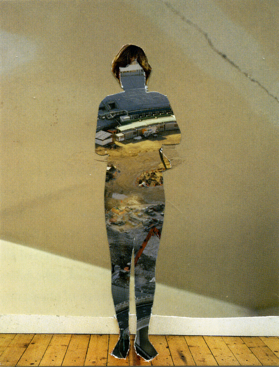 Melinda Gibson   Photomontage XXVII, (taken from pages 93, 112, 125) , 2009-2011 2 ⅜ x 3 in, unique photographic collage