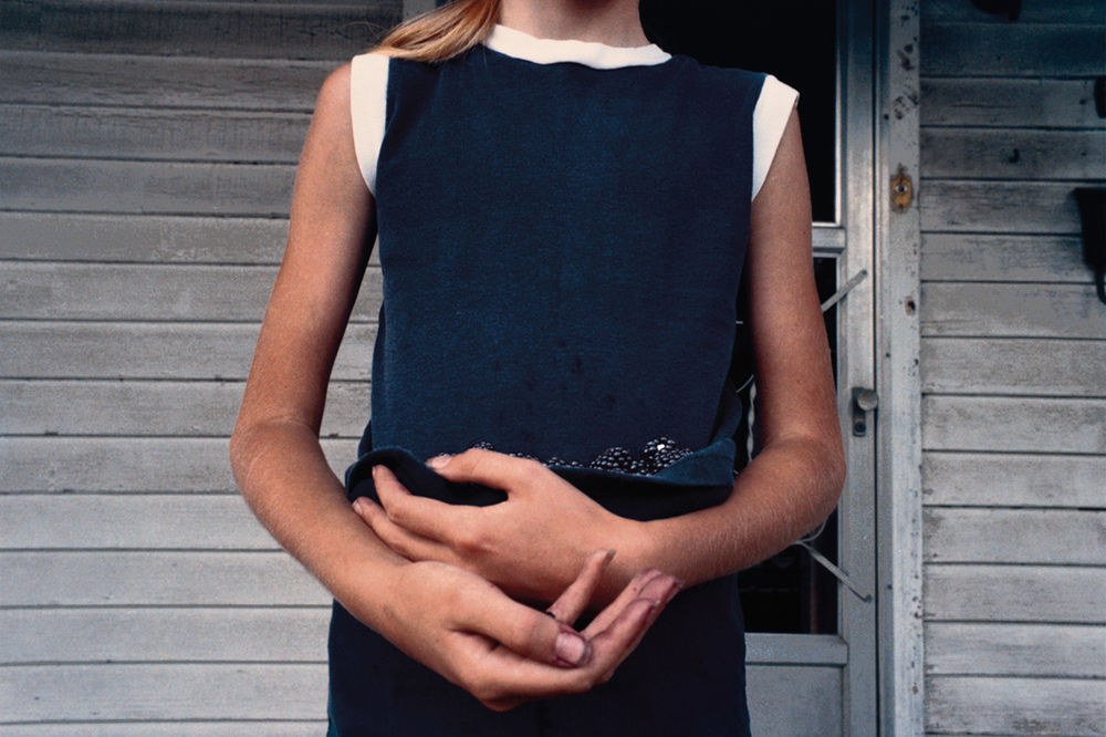 Girl Holding Blackberries, 1975.