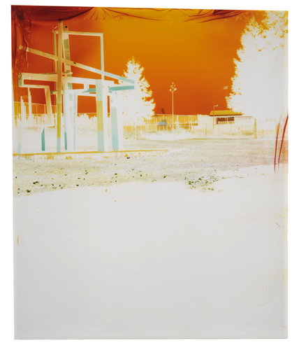 John Chiara,     Laney at 5th (Variation A) , 2011 33.5 x 28.25 inch Image on Endura transparency