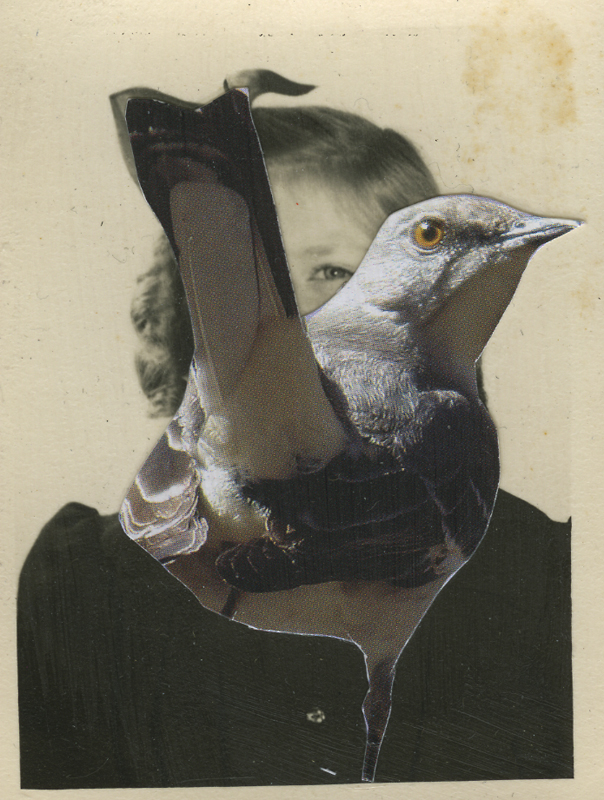 Untitled , 2015 Photo collage 3.25 x 2 in