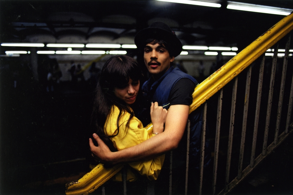 Untitled  (Couple by stairs), early 1980s Dye Transfer Print 20 x 24 inches