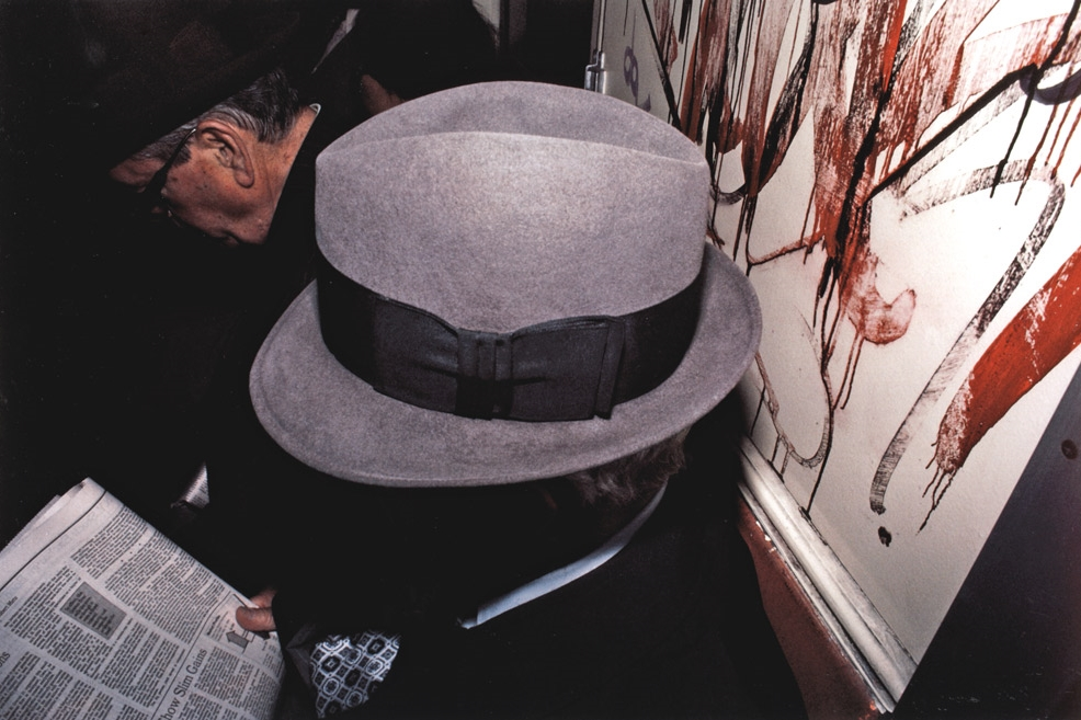 Untitled  (Man's hat), early 1980s Dye Transfer Print 20 x 24 inches
