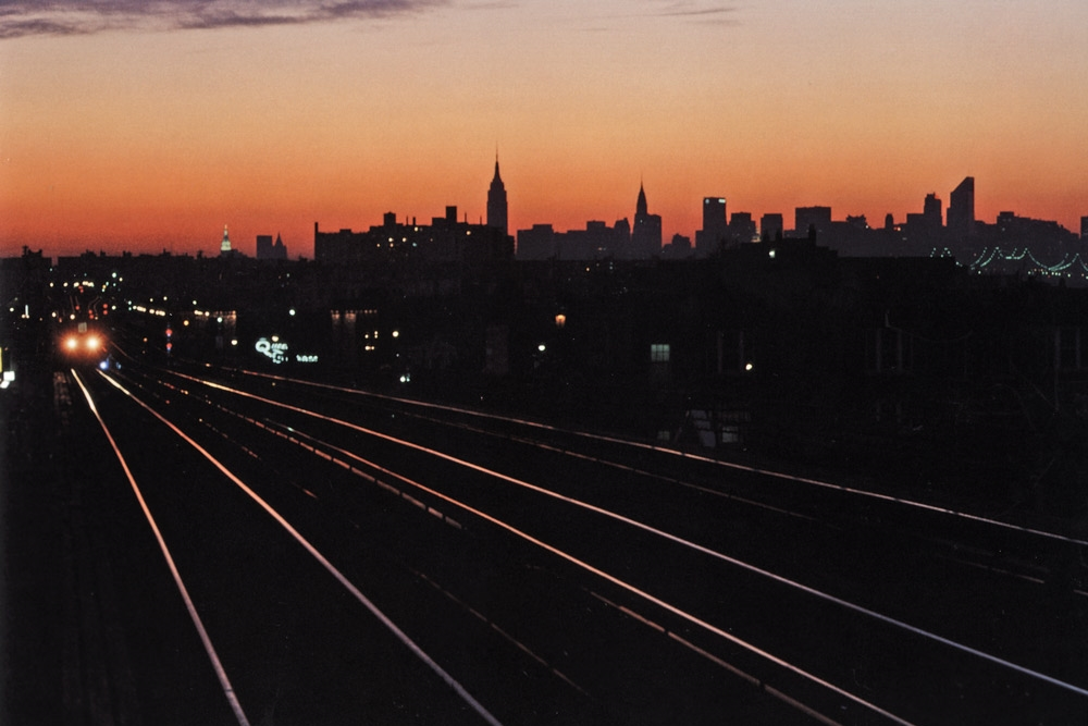 Untitled  (Empire State sunset), early 1980s Dye Transfer Print 20 x 24 inches