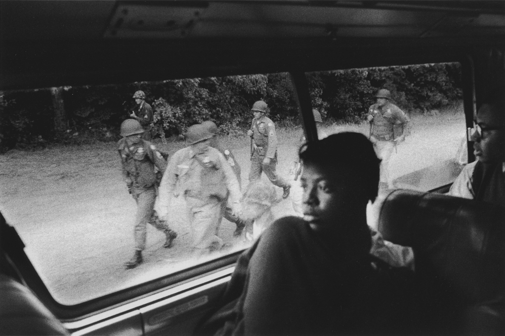 Untitled  (Woman on bus), 1961-1965 Silver Gelatin Print 11 x 14 inches