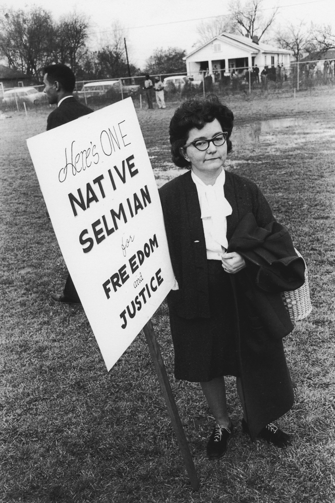 Untitled  (Native Selmian), 1961-1965 Silver Gelatin Print 11 x 14 inches