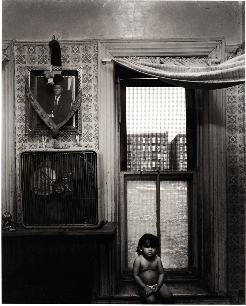 Untitled  (Child on sill), 1966-1968 Silver Gelatin Print 11 x 14 inches
