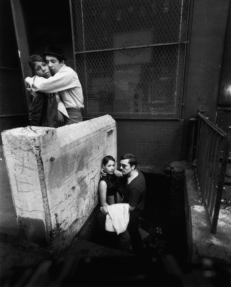 Untitled  (Guys with girlfriends), 1966-1968 Silver Gelatin Print 11 x 14 inches