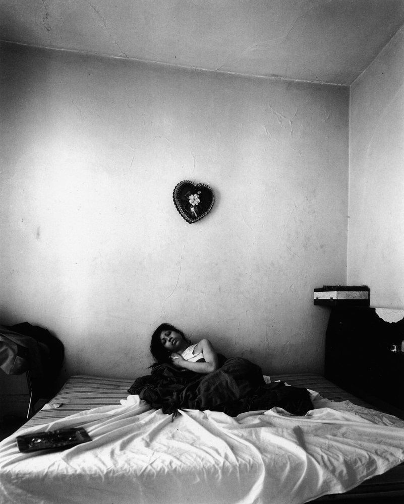 Untitled  (Heart on wall), 1966-1968 Silver Gelatin Print 11 x 14 inches