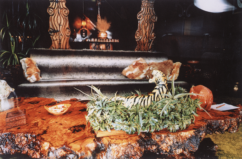 William Eggleston   Untitled  (Jungle room), from  Graceland Portfolio , 1983