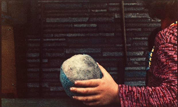 'Singular': Small Hand and Ball, 1987, from Frame. Photograph: Mark Cohen
