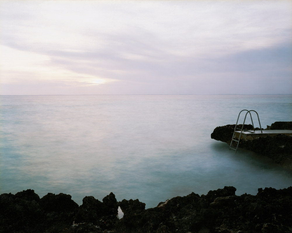 Bahía de Cochinos (Bay of Pigs), Site of the April 17, 1961 CIA-sponsored Invasion by Cuban Exiles,  2004 C-print 20 x 24 inches