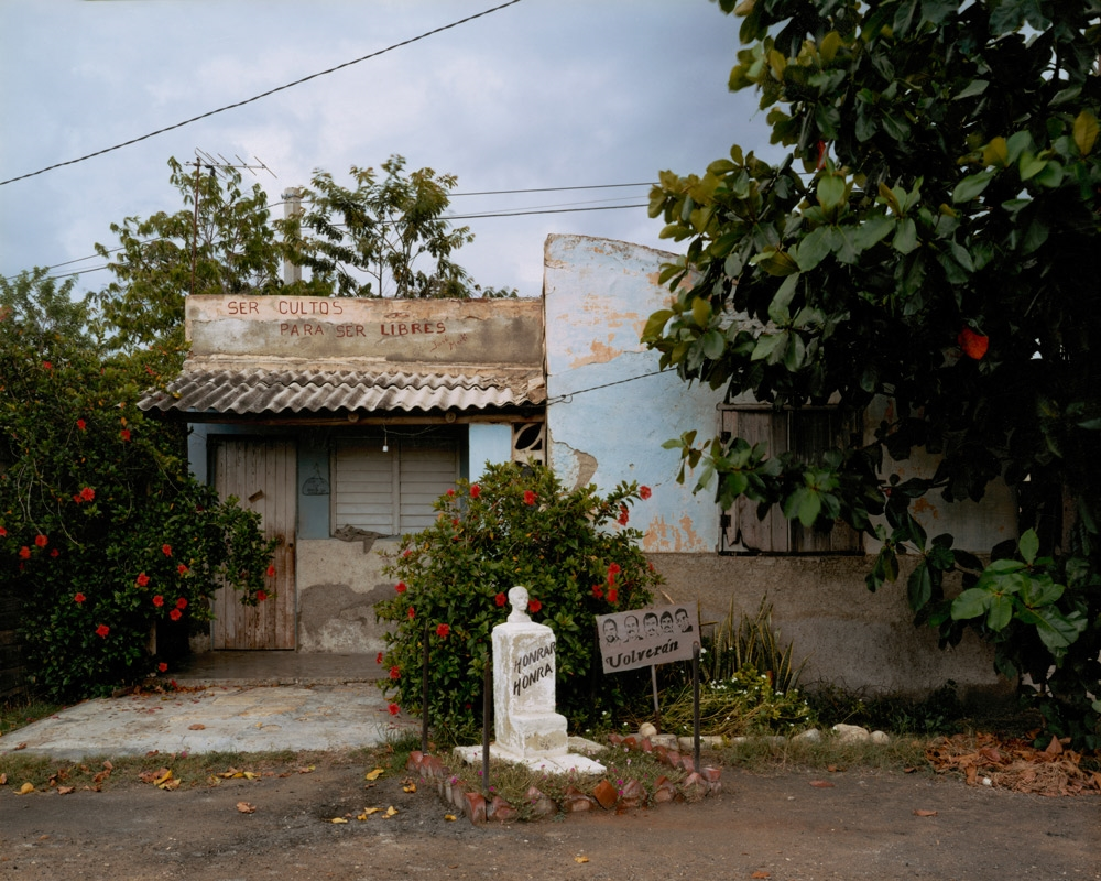 Barrio Blanco, Central Paraguay, Guantánamo,  2004 C-print 20 x 24 inches