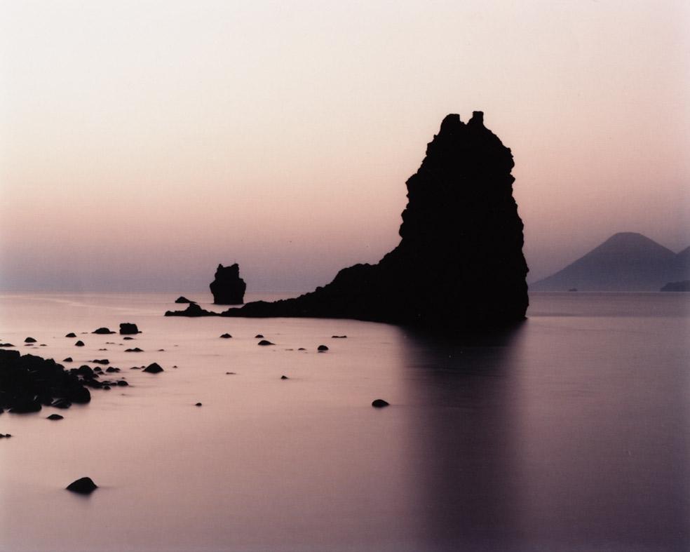 Lava Monolith with Antenna, Vulcano, Italy , 1994