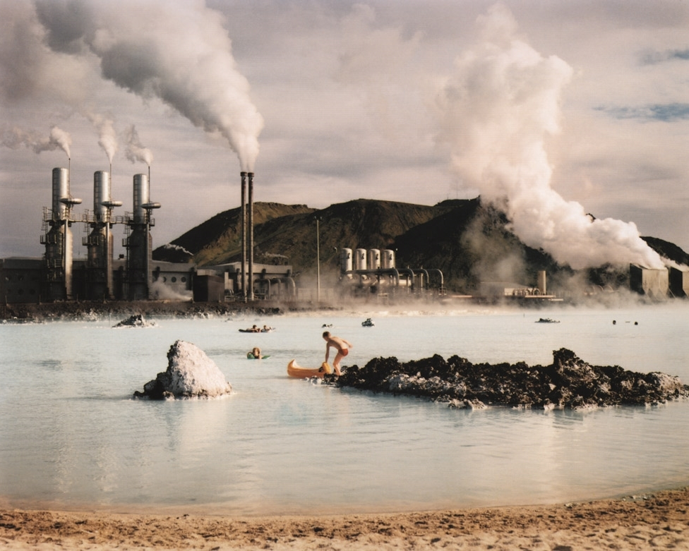 The Blue Lagoon, Svartsengi Geothermal Pumping Station, Iceland , 1988
