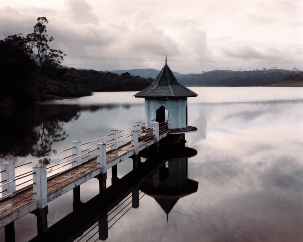 Reservoir and British-Built Gatehouse, Near Nuwara Eliya, Sri Lanka , 1993
