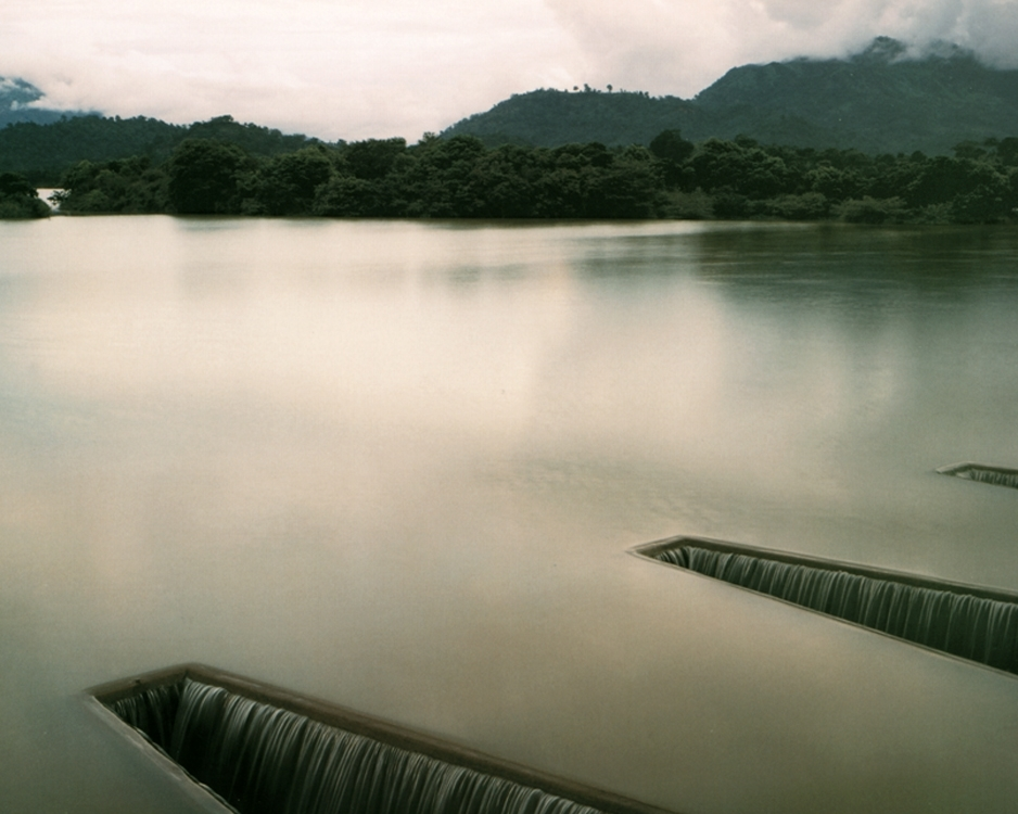 Sluices at a Resevoir, Part of a Two-Thousand-Year-Old Irrigation System Now Updated, Near Badulla, Sri Lanka , 1993