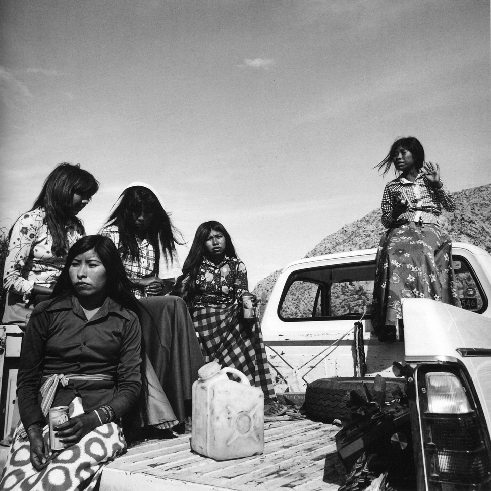Desierto de Sonora , Mexico, 1979 Silver Gelatin Print 16 x 20 inches