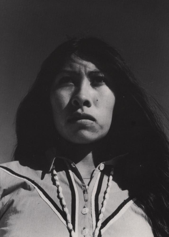 Seri Woman , Sonora Desert, 1979 Silver Gelatin Print 14 x 11 inches