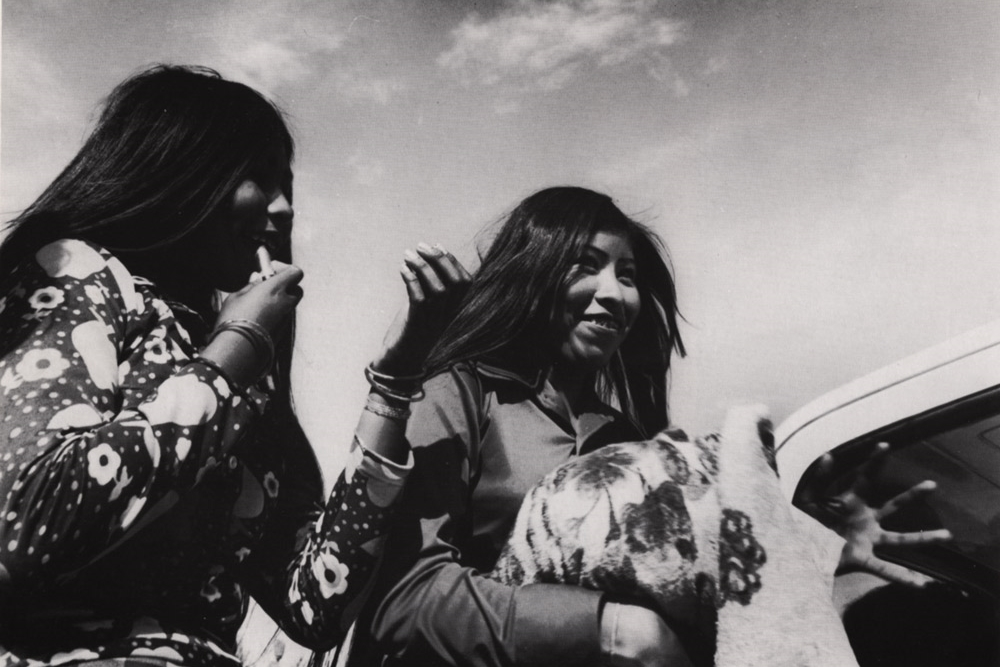 Mujeres Seris , Desierto de Sonora, 1979 Silver Gelatin Print Image 12.75 x 18.25 inches/Sheet 16 x 20 inches