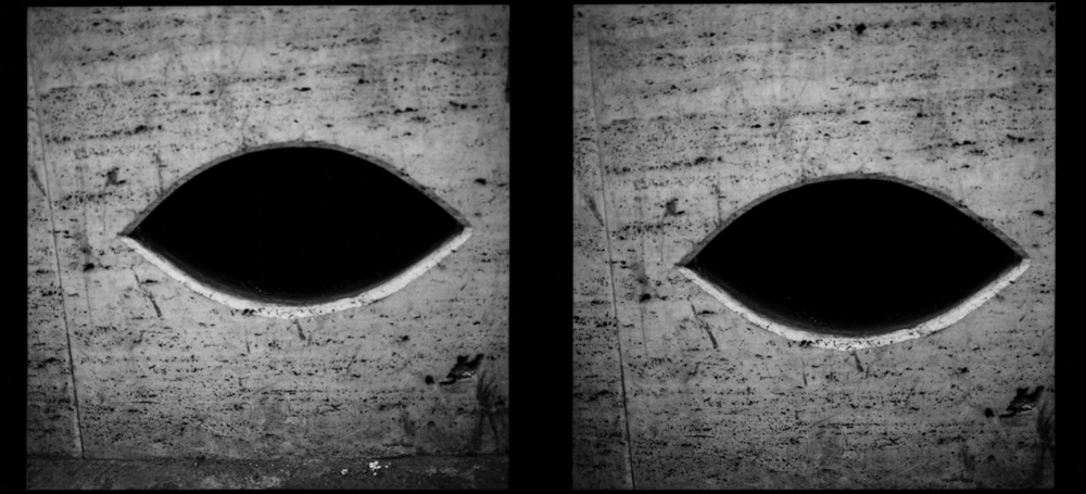 Untitled  (eye like, diptych), from the series  asor