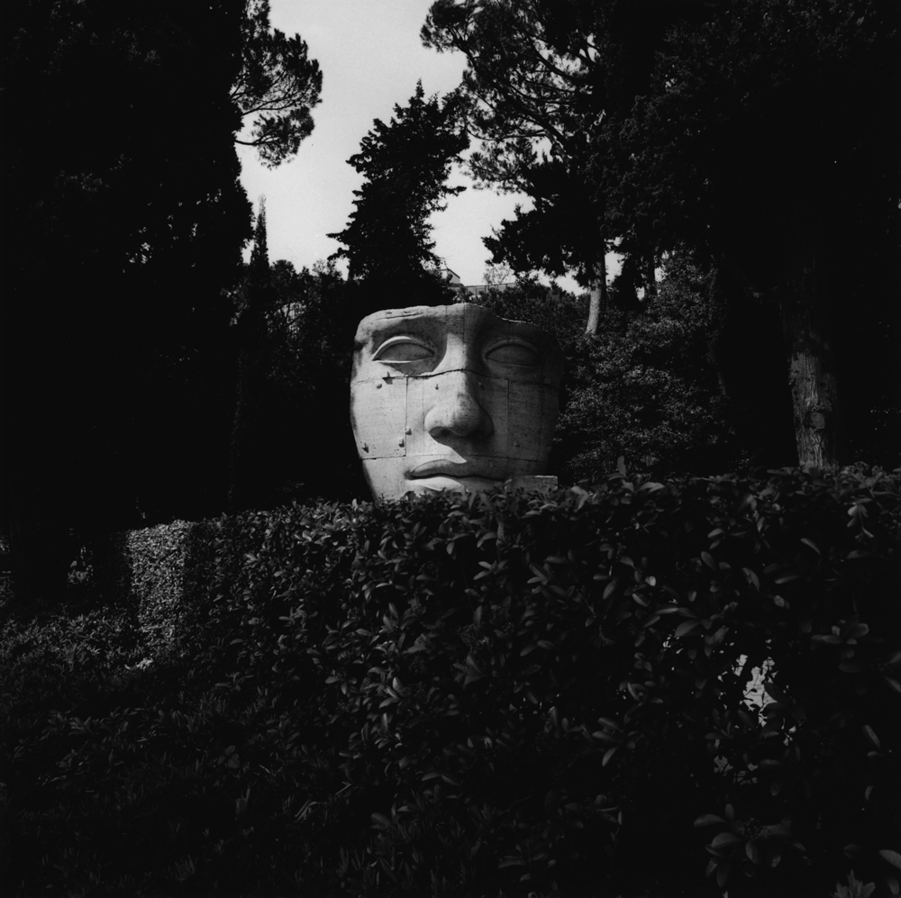 Untitled  (big face), from the series  asor