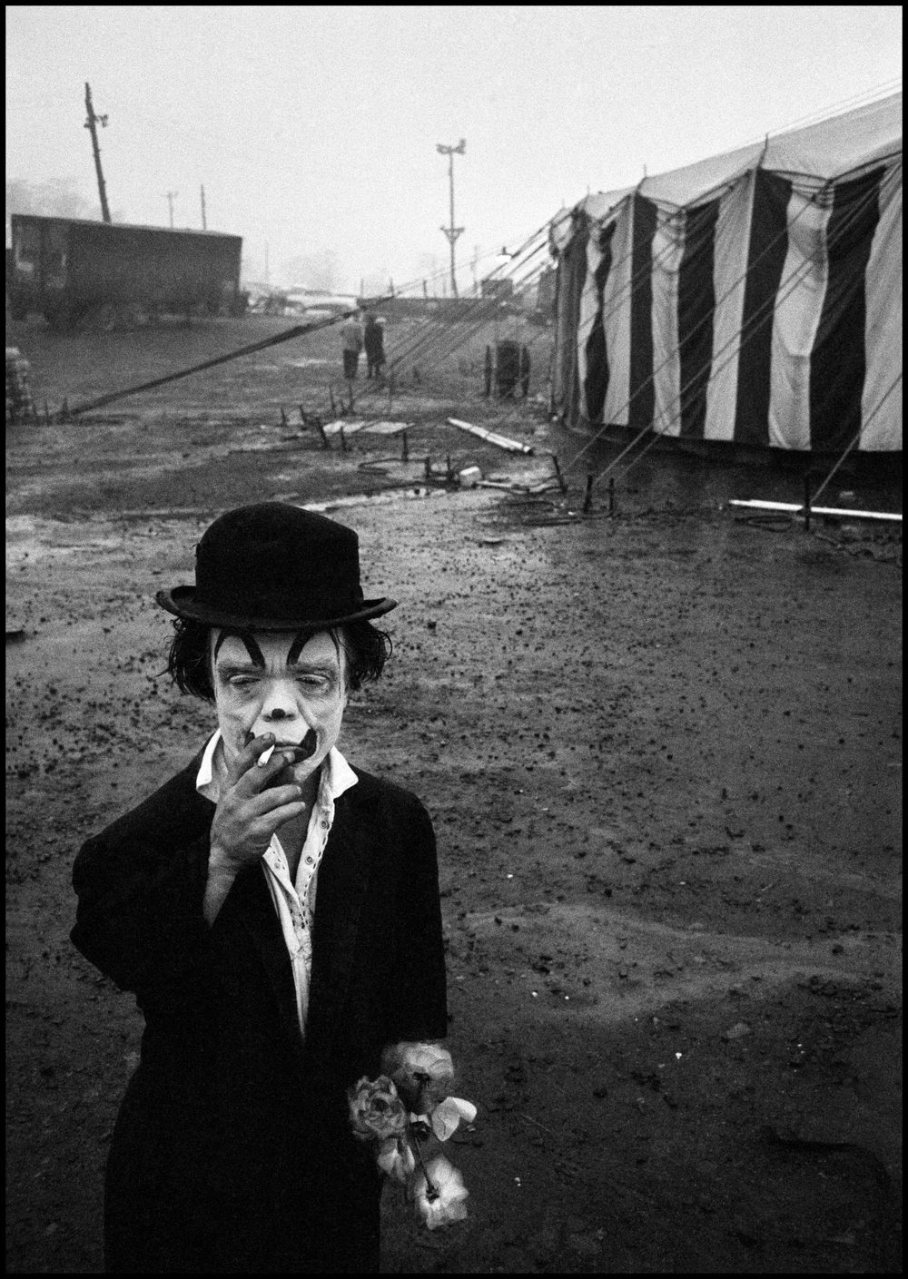 Bruce Davidson,  Jimmy Armstrong, The Dwarf , USA. Palisades, New Jersey, 1958.