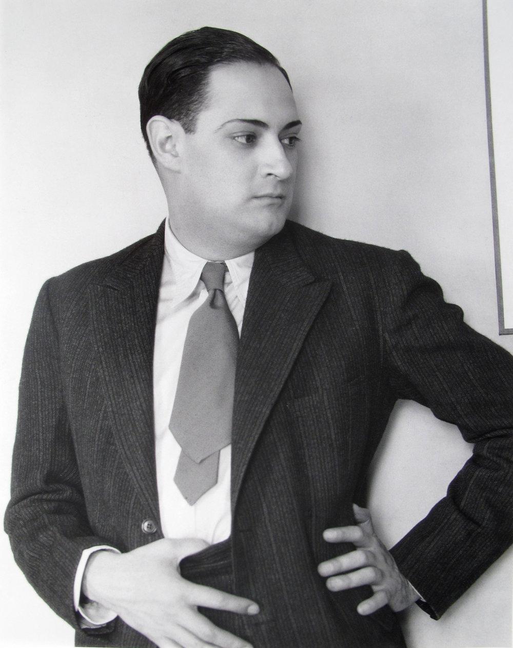 Manuel Alvarez Bravo  Salvador Novo , 1930-40 8 x 10 inches Silver Gelatin Print