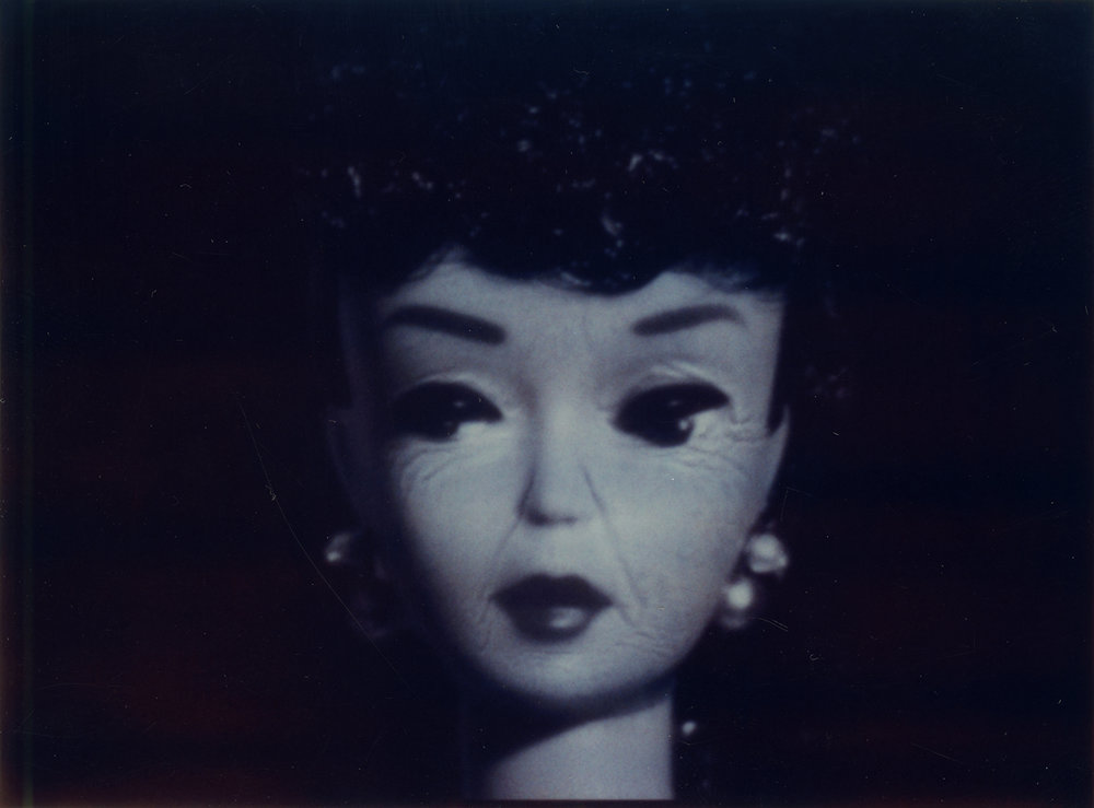 Nancy Burson  Aged Barbie , early 1990's Polaroid Unique Work