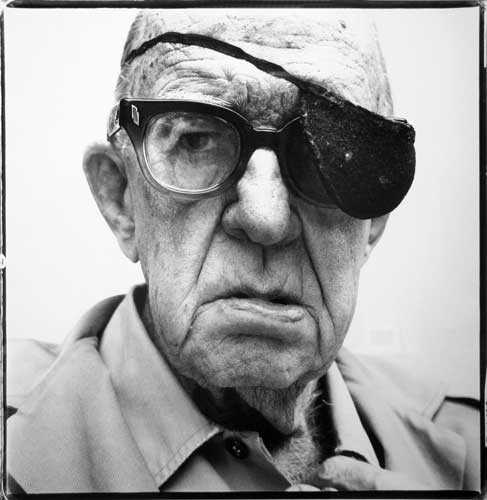 John Ford, director, Bel Air, California , 1972