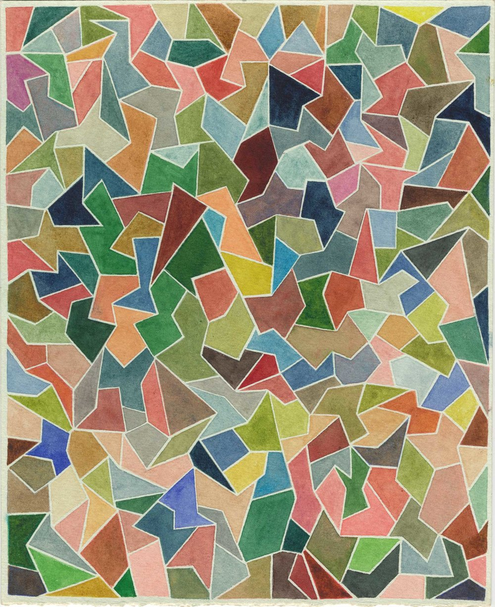 Shaun McCracken   Untitled #274 , 2012 10 x 8 inch Watercolor on paper