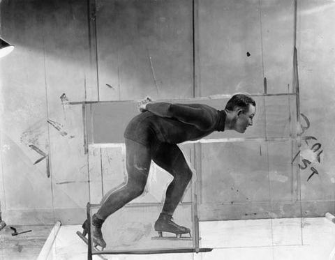 Sebastian Riemer,  Speed Skater (Leow) , 2017
