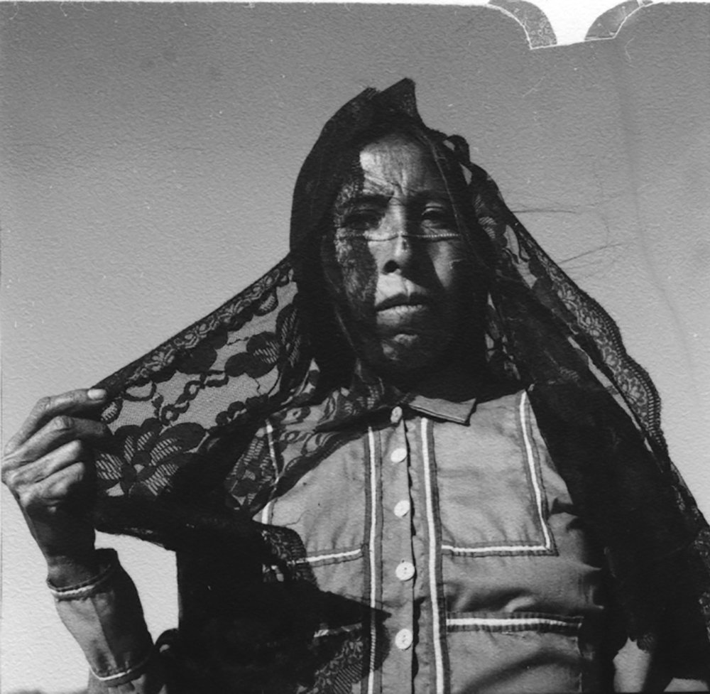 Untitled, Desierto de Sonora , 1979  2.5 x 2.5 inch Vintage Gelatin Silver Contact Print