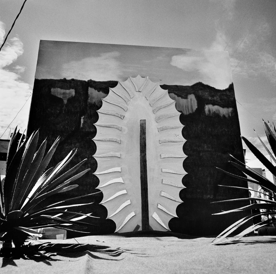Graciela Iturbide    La Guadalupe en Chalma , Chalma, México, 2005  20 x 16 inch Silver Gelatin Print