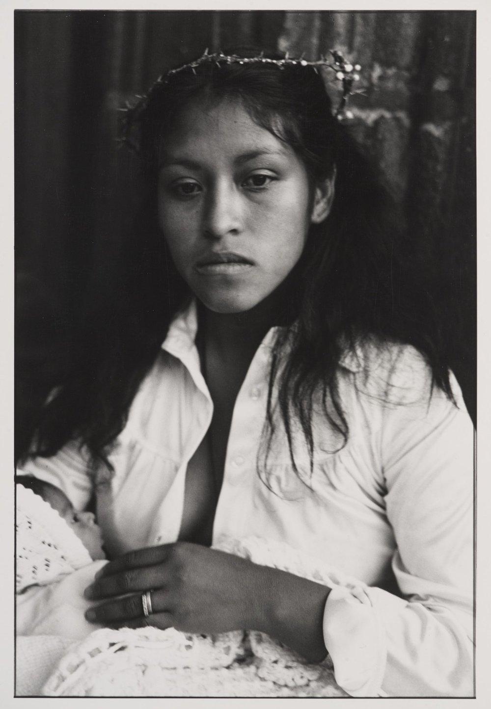Graciela Iturbide    Madona,  México, 1980  24 x 20 inch Silver Gelatin Print