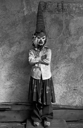 Graciela Iturbide   Jano, Ocumichu, Michoacan , 1981 16 x 20 inch Silver Gelatin Print Signed by the artist in black ink on recto From the collection of the artist Illustrated in: Illustrated in La forma y la memoria, Monterrey, marco, 1996; Graciela Iturbide, Images of the Spirit, Aperture, 1996, page 49. GCP15397 $6,000