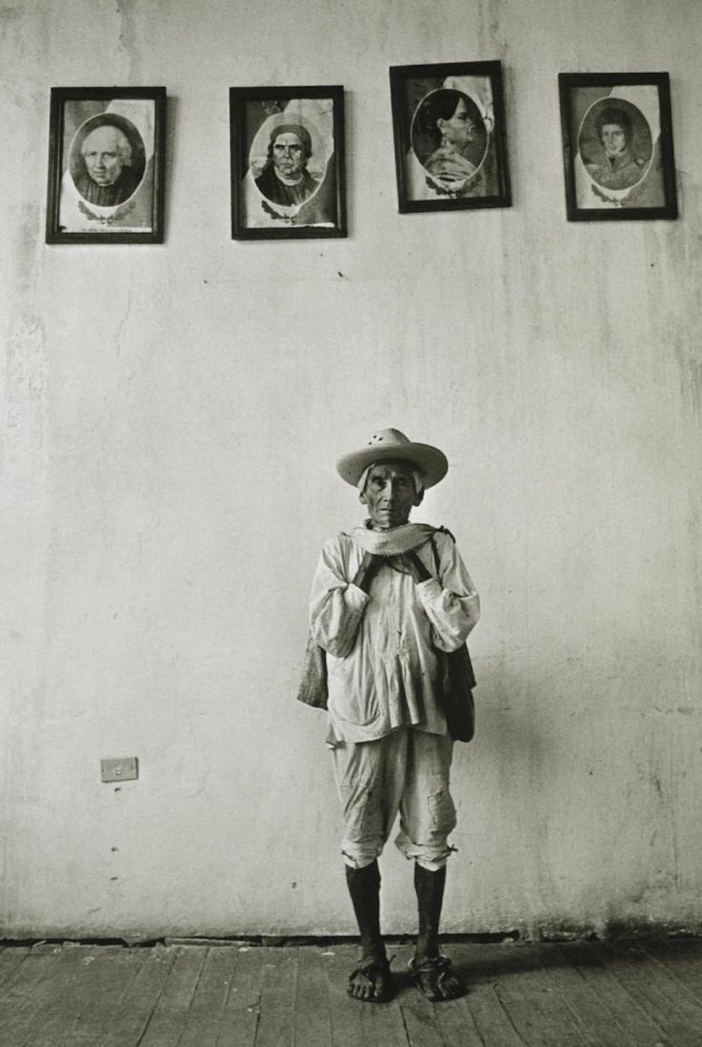 Graciela Iturbide   Héroes de la Patria,  Cuetzalan, Puebla, México, 1993 14 x 11 inch Silver Gelatin Print Signed by the artist in ink on recto From the collection of the artist Illustrated in:  Images of the Spirit , Aperture, 1996, cover image and page 10 GCP6993 $4,000