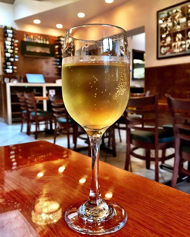 A glass of Tej #honeywine #ethiopianfood #dcfoodie