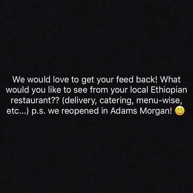 Thank you ❤️ #ethiopian #dceats #dc #dcfoodie #ethiopianfood #justyourthoughts #admo #improve
