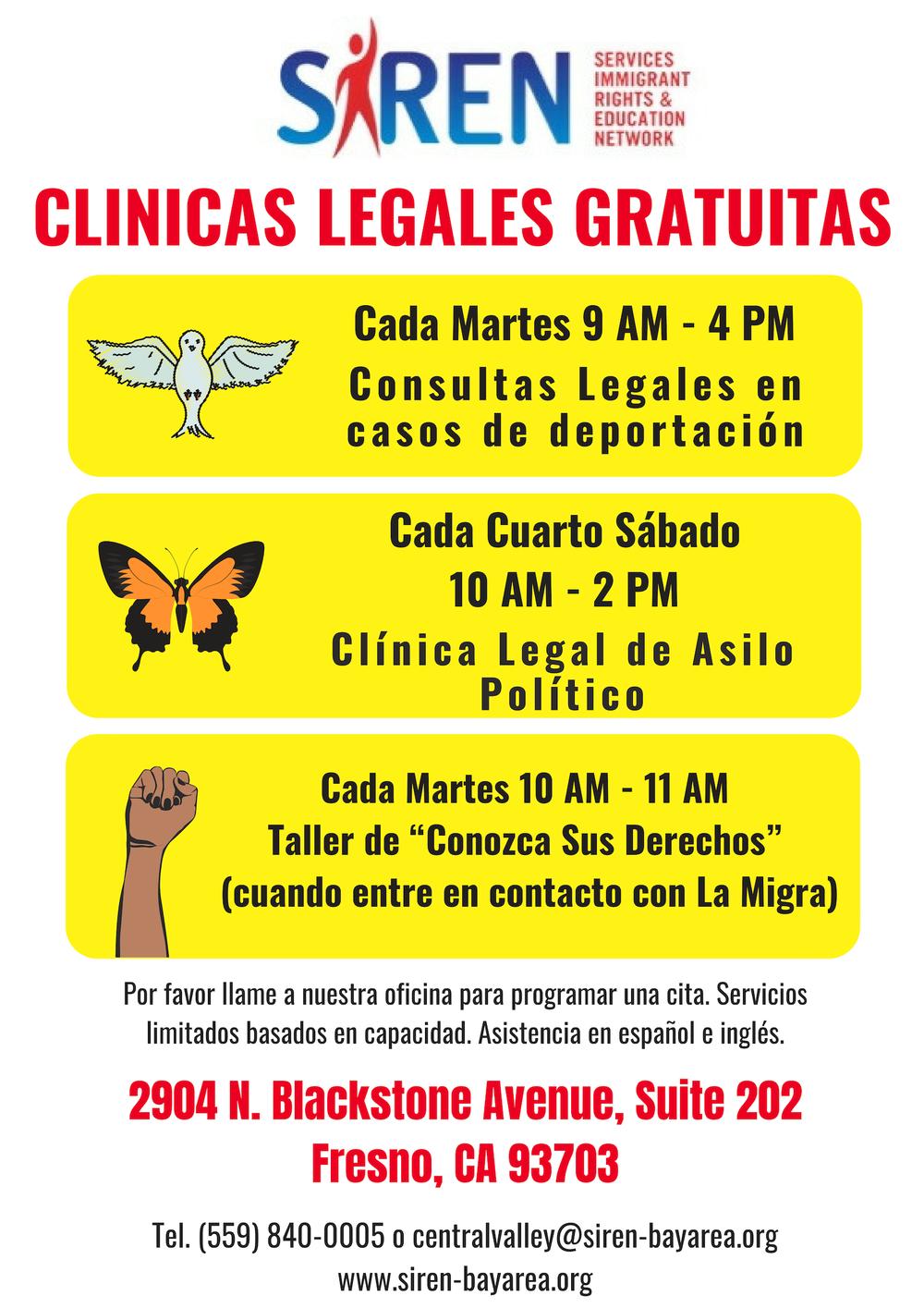 2019 Weekly Clinic Flyer (Spanish).jpg
