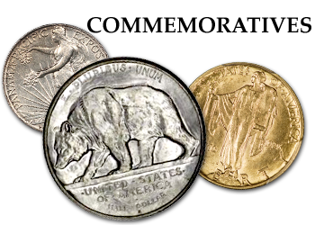 Commemorative Quarters, Half Dollars, and Gold