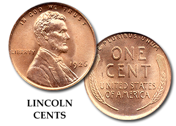 Lincoln Cents - 1c