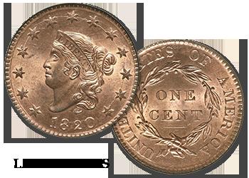 Large Cents - Lg 1c